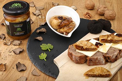 Sušene fige, med in tartufi